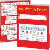 My Writing Folder - D'Nealian - 12 folders