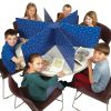 Multi-Station Privacy Shield - Blue - Matte