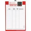 Classroom Clock Out Clipboard - 1 set.