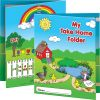 Early Childhood Take Home Folder with Resource Info - 2 Pocket - 12 Pack
