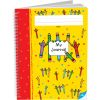 Spiral Draw and Write Journals, Pencils - 6 Pack