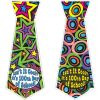Ready-To-Decorate® Isn't It Cool? It's 100th Day Of School! Ties - 24 ties and stickers