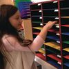 Really Good Classroom Mail Center With Paper Holders - 1 mail center, 2 wire racks