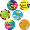 I Had A Great Day! Jumbo Stickers