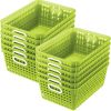 Book Baskets - Large Rectangle - 12 baskets