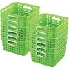 Book Baskets - Square - 12 baskets