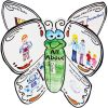 Ready-To-Decorate® About Me 3-D Butterflies - 24 butterflies