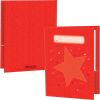 Star Group Color Folders 4 Colors - 2 Pocket - 12 Pack