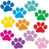 Student Name Paw Print Magnets - 32 magnets