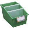 4-Pack Single-Color Chapter Book Library Bins™ With Dividers