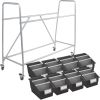 Really Good Classroom Library Rack With Chapter Book Bins™ With Dividers - 1 rack, 8 bins