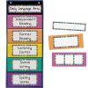 Black Multipurpose Pocket Chart™