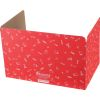 Large Privacy Shields - Set of 12 - Red - Matte
