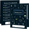 Chalkboard Motif Homework Folders - 2 Pocket - 12 Pack