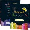 Homework Tri-Fold 3-Pocket Folders