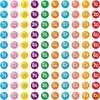 Counting To 100th Day Gumball Magnets Refill