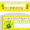 Zaner-Bloser Print Self-Adhesive Plastic Desktop Helpers™ - 24 helpers