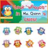 EZ Stick™ Owl Friends Door Sign And Student Name Pieces