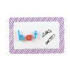 Magnetic Dry Erase Mats - Chevron 6 Colors