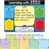 Learning With STEM 10-In-1 Poster Set