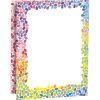 Colorful Drops Schoolwork Tri-Fold 3-Pocket Folders