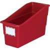 Royal Red Durable Book and Binder Holder - Single 1 bin