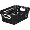 Medium Rectangle Book Basket - Single Basket