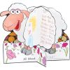 Welcome 'Baa'ck! Banner With Ready-To-Decorate® About Me 3-D Sheep