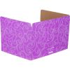 Standard Privacy Shields - Set of 12 - Star & Swirl - Purple - Matte