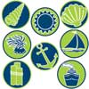 Nautical Mini Stickers