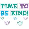 EZ Stick™ Time To Be Kind Wall Stickers