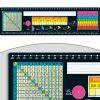 Chalkboard-Style Self-Adhesive Deluxe Plastic Desktop Helpers™ - Intermediate - 24 helpers