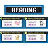 Reading Center Work Office Cards - Grade K