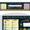 Chalkboard-Style Self-Adhesive Vinyl Desktop Helpers™ - Primary - 24 helpers