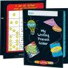Early Writing Process Tri-Fold 3-Pocket Folders - 12 folders