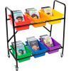 Mid-Size Mobile Storage Rack - 1 rack