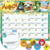 Monthly Calendar Pages And Stickers 2019-2020 - Intermediate