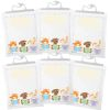 Large Hang-Up Totes  Books  6 Pack