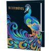 Be Extraordinary Peacock Folders - 2 Pocket - 12 Pack