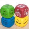 Primary Comprehension Cubes - 4 cubes