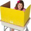 Large Fizz Privacy Shields - Set 12 - Yellow - Matte