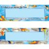 Character Koi Two-Sided Nameplates With Sleeves