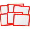 Dry Erase Boards – Set Of 6 – Red