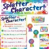 Splatter Character Kit - 1 multi-item kit