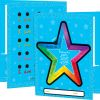 Sensory Breathing Star Tactile Calming Folders - 2 Pocket - 12 Pack