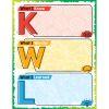 Jumbo Magnetic Chart - KWL