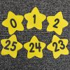 Carpet Mark-Its  Move And Groove! Numbers Through 25 Task Cards Kit
