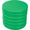 Round Cushions  Set Of 6  Single Color - Green