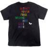 Rainbow-Themed Inspirational Teacher T-Shirt - Small