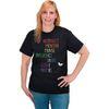Rainbow-Themed Inspirational Teacher T-Shirt - XX Large